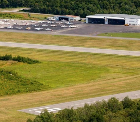 North Central State Airport Runway